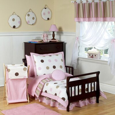 Sweet Jojo Designs Mod Dots Toddler Bedding Collection