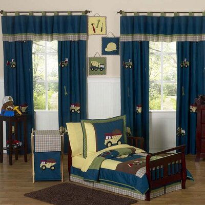 Sweet Jojo Designs Construction Zone Toddler Bedding Collection