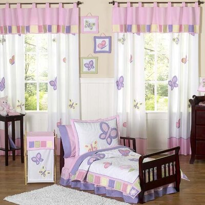 Sweet Jojo Designs Butterfly Toddler Bedding Collection