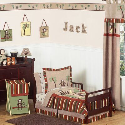 Monkey Time Toddler Bedding Collection