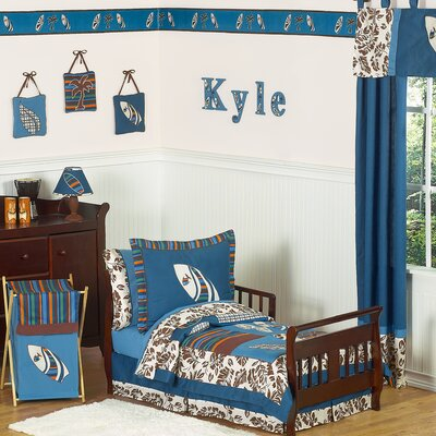Sweet Jojo Designs Surf Blue Toddler Bedding Collection