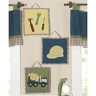 Construction Collection Wall Hangings 3 Piece Set