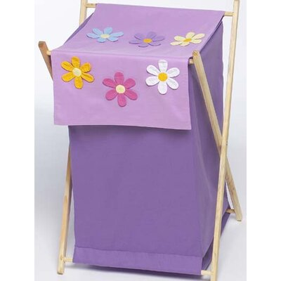 Sweet Jojo Designs Daisies Laundry Hamper