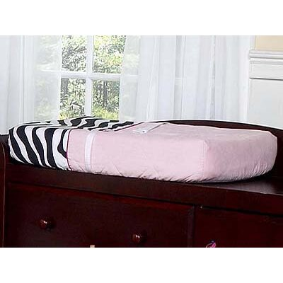 Zebra Pink Collection Changing Pad Cover