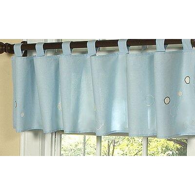 Go fish 84 curtain valance wayfair for Fish curtains for windows
