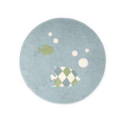 Sweet Jojo Designs Go Fish Collection Floor Rug