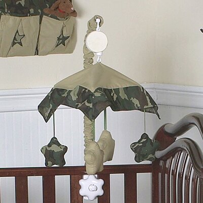 Sweet Jojo Designs Camo Green Collection Musical Mobile