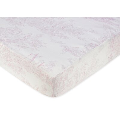 Sweet Jojo Designs Toile Fitted Crib Sheet