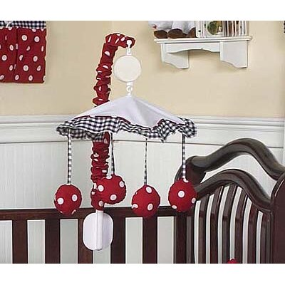 Sweet Jojo Designs Little Ladybug Collection Musical Mobile