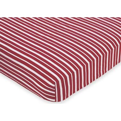 Sweet Jojo Designs Vintage Aviator Fitted Crib Sheet