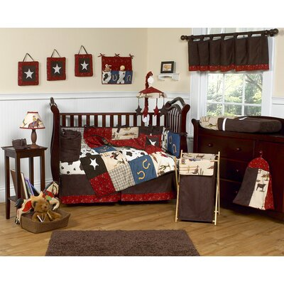 Sweet Jojo Designs Wild West Cowboy Crib Bedding Collection