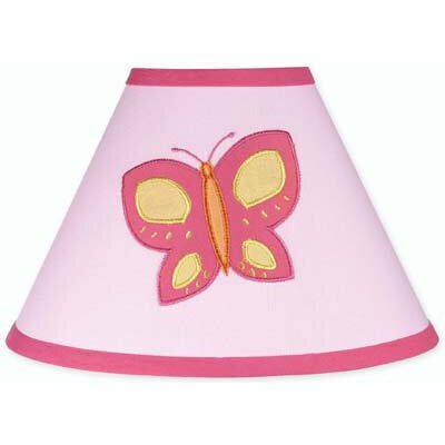 Sweet Jojo Designs Butterfly Pink and Orange Collection Lamp Shade