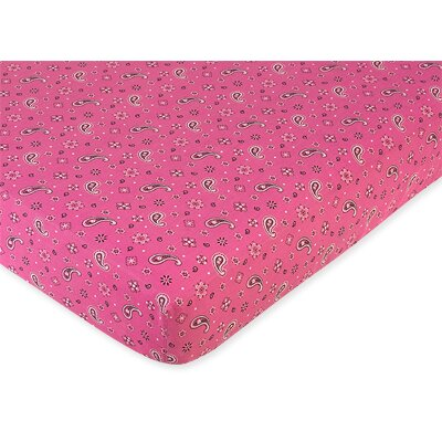 Sweet Jojo Designs Bandana Fitted Crib Sheet