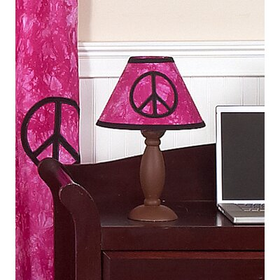 Sweet Jojo Designs Peace Pink Collection Lamp Shade