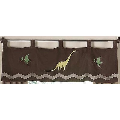 Sweet Jojo Designs Dinosaur Land Curtain Valance