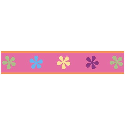 Sweet Jojo Designs Groovy Collection Wall Paper Border