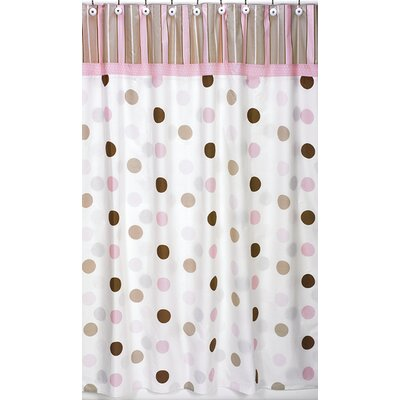 Sweet Jojo Designs Mod Dots Shower Curtain