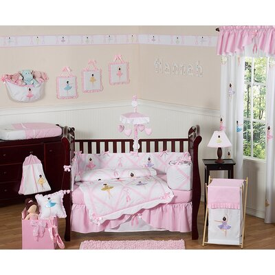 Ballerina Crib Bedding Collection
