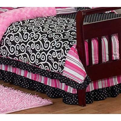 Sweet Jojo Designs Madison Collection Toddler Bed Skirt