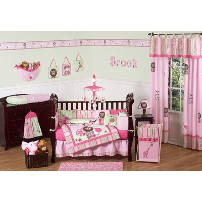 Sweet Jojo Designs Jungle Friends Crib Bedding Collection