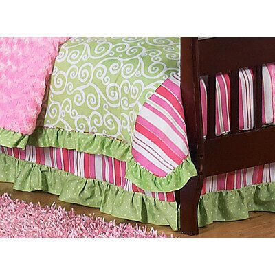 Sweet Jojo Designs Olivia Collection Toddler Bed Skirt