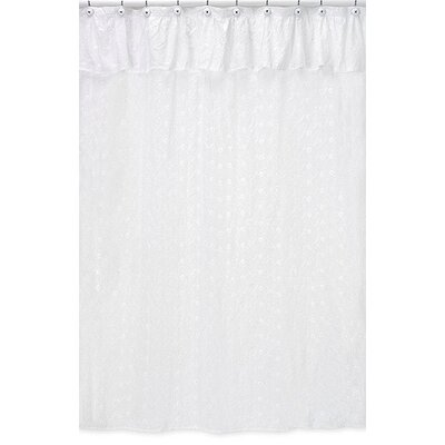 Sweet Jojo Designs Eyelet White Collection Shower Curtain