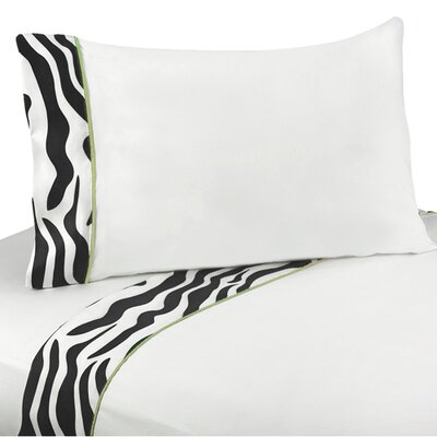Sweet Jojo Designs Zebra Sheet Set