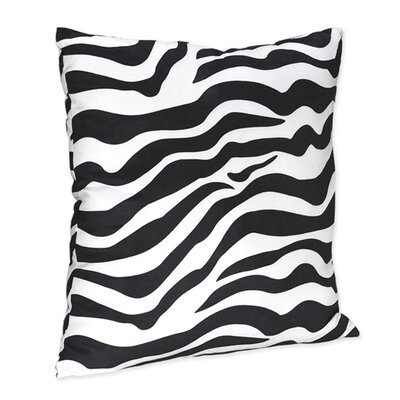 Sweet Jojo Designs Zebra Purple Collection Decorative Pillow