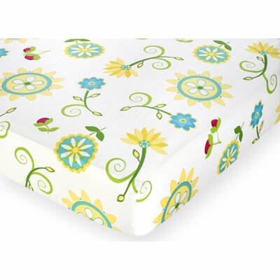 Layla Fitted Crib Sheet
