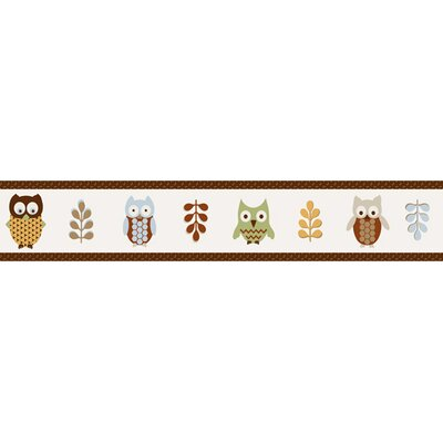 Night Owl Collection Wall Paper Border