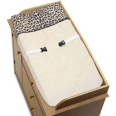 Sweet Jojo Designs Animal Safari Collection Changing Pad Cover