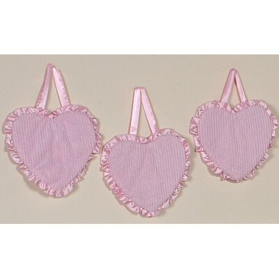 Chenille Pink Collection Wall Hangings