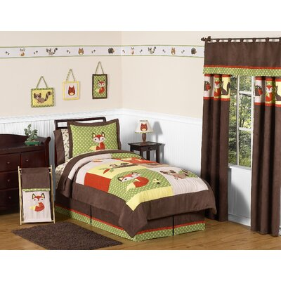 Sweet Jojo Designs Forest Friends Collection 3pc Full/Queen Bedding Set
