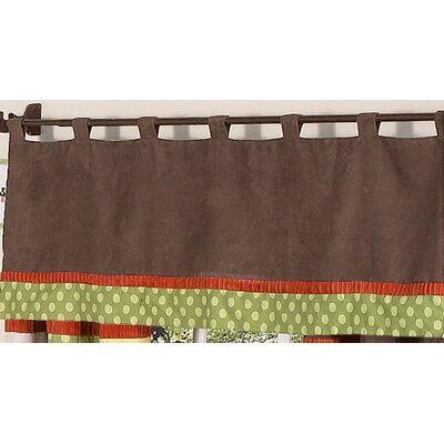 Sweet Jojo Designs Forest Friends Tab Top Curtain Valance
