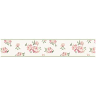 Riley's Roses Collection Wall Paper Border