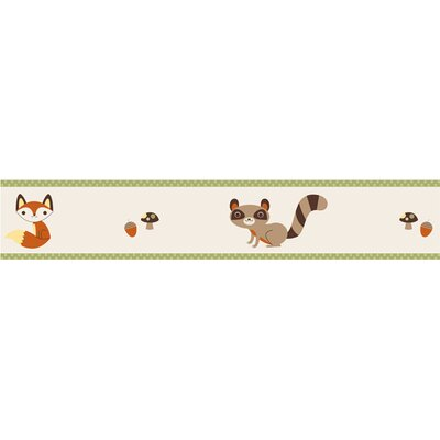 Forest Friends Collection Wall Paper Border