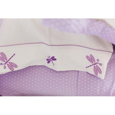 Sweet Jojo Designs Mod Dots Purple Kid Bedding Collection