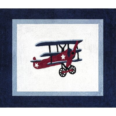 Sweet Jojo Designs Vintage Aviator Collection Floor Rug