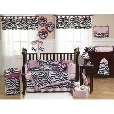 Sweet Jojo Designs Zebra Crib Bedding Collection