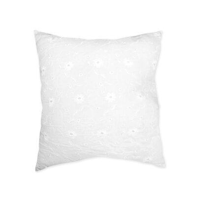Sweet Jojo Designs Eyelet White Decorative Pillow