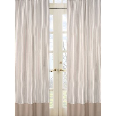 Sweet Jojo Designs Giraffe Rod Pocket Curtain Panel Pair with Valances