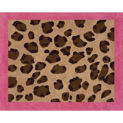 Sweet Jojo Designs Cheetah Pink Collection Floor Rug