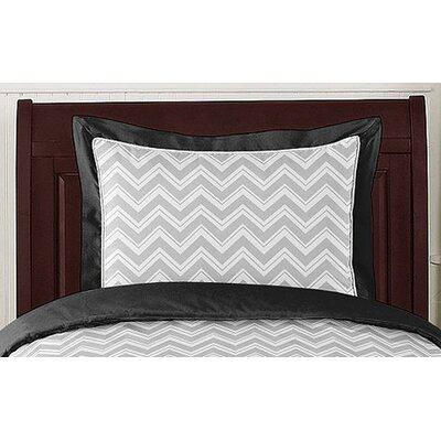 Sweet Jojo Designs Zig Zag Standard Pillow Sham