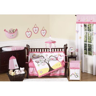 Sweet Jojo Designs Song Bird Crib Bedding Collection