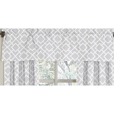 Sweet Jojo Designs Diamond Cotton Curtain Valance