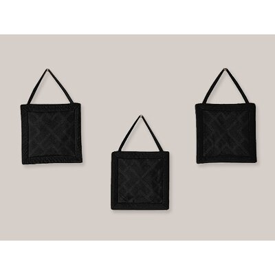 Diamond Black Collection Wall Hangings (Set of 3)