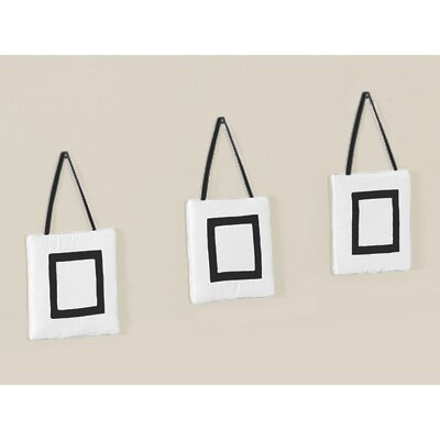Hotel White and Black Collection Wall Hangings (Set of 3)