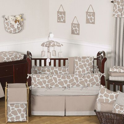 Giraffe 9 Piece Crib Bedding Collection