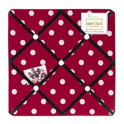 Sweet Jojo Designs Little Ladybug Collection Memo Board