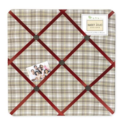 Sweet Jojo Designs All Star Sports Fabric Memo Board
